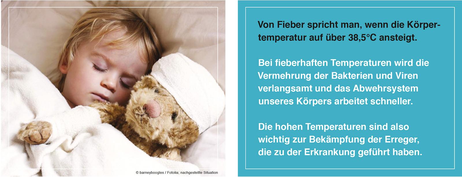 Elterninformation zu Fieber